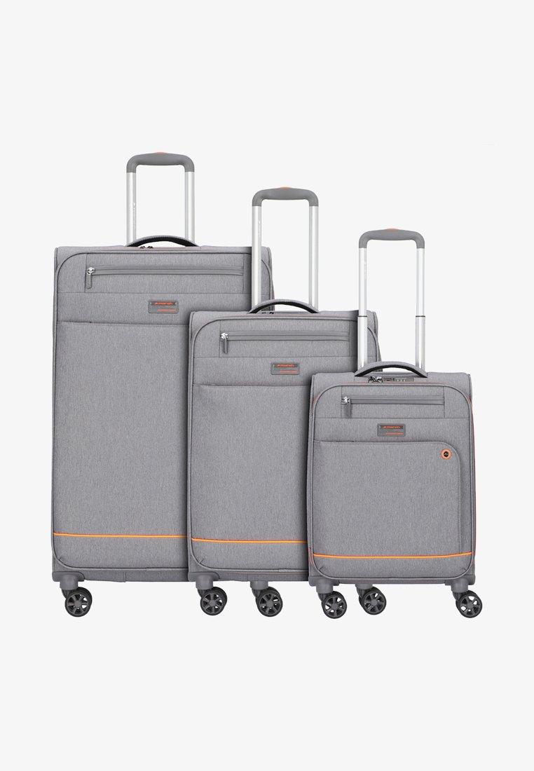 march luggage - 3 SET - Luggage set - grey