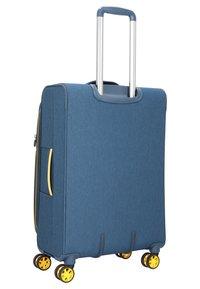 march luggage - 3 SET - Luggage set - navy/yellow - 2
