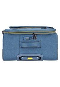 march luggage - 3 SET - Luggage set - navy/yellow - 5