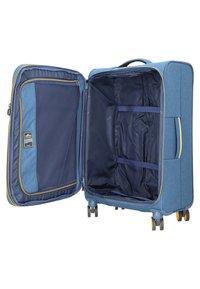 march luggage - 3 SET - Luggage set - navy/yellow - 4