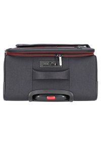 march luggage - 3 SET - Luggage set - black / red - 5