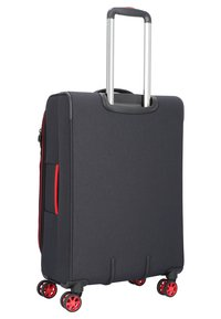 march luggage - 3 SET - Luggage set - black / red - 2