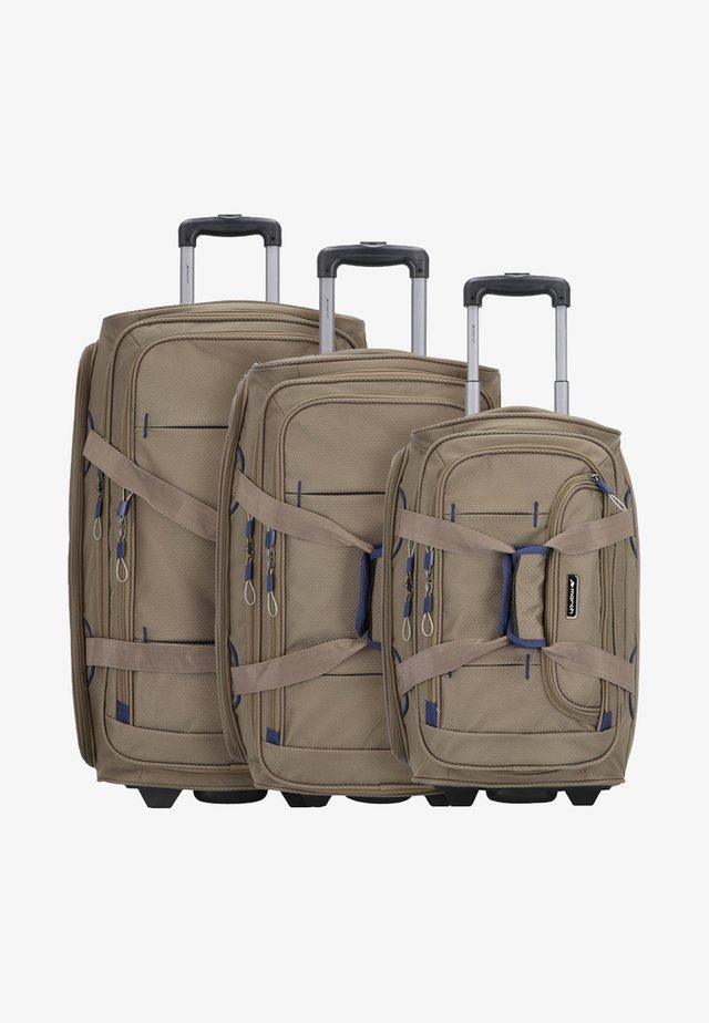3PACK - Kofferset - beige