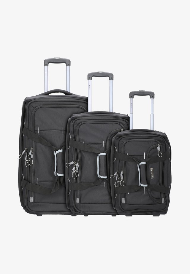 3PACK - Luggage set - black