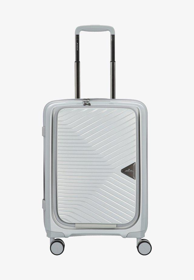 GOTTHARD - Wheeled suitcase - silver metallic