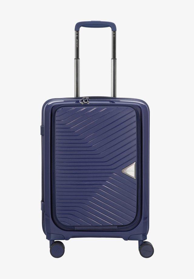 GOTTHARD - Wheeled suitcase - navy