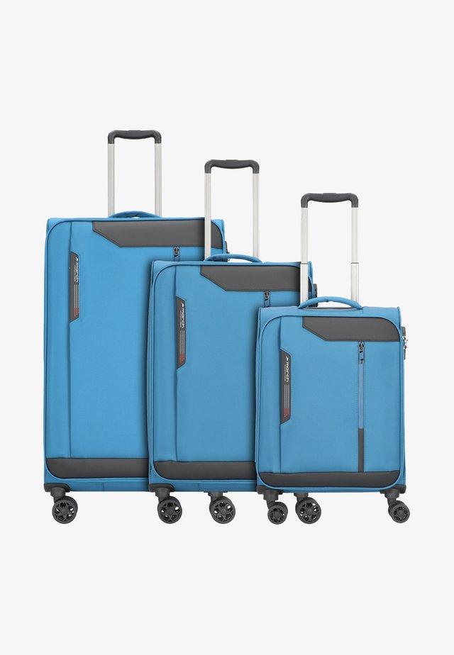 SET - Kofferset - petrol blue