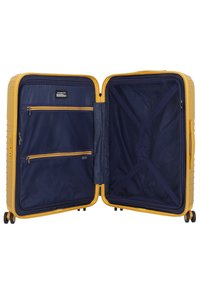 march luggage - LOTUS 4-ROLLEN 3TLG. - Luggage set - golden honey metallic - 4