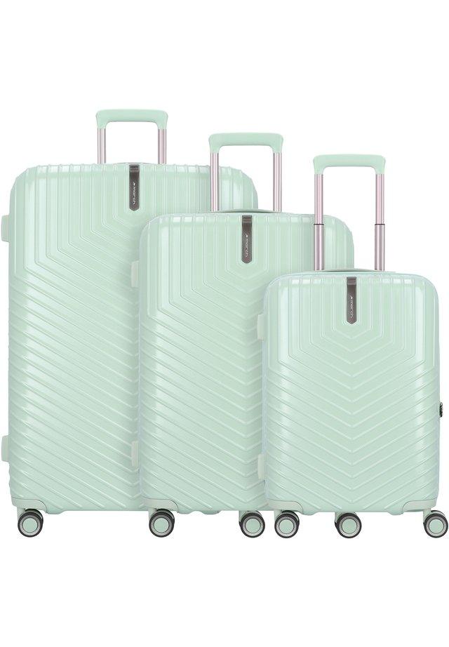 LOTUS 4-ROLLEN 3TLG. - Luggage set - dusty mint metal