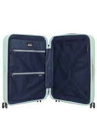 march luggage - LOTUS 4-ROLLEN 3TLG. - Luggage set - dusty mint metal - 4