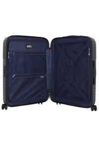 march luggage - LOTUS 4-ROLLEN 3TLG. - Set de valises - black metal - 4