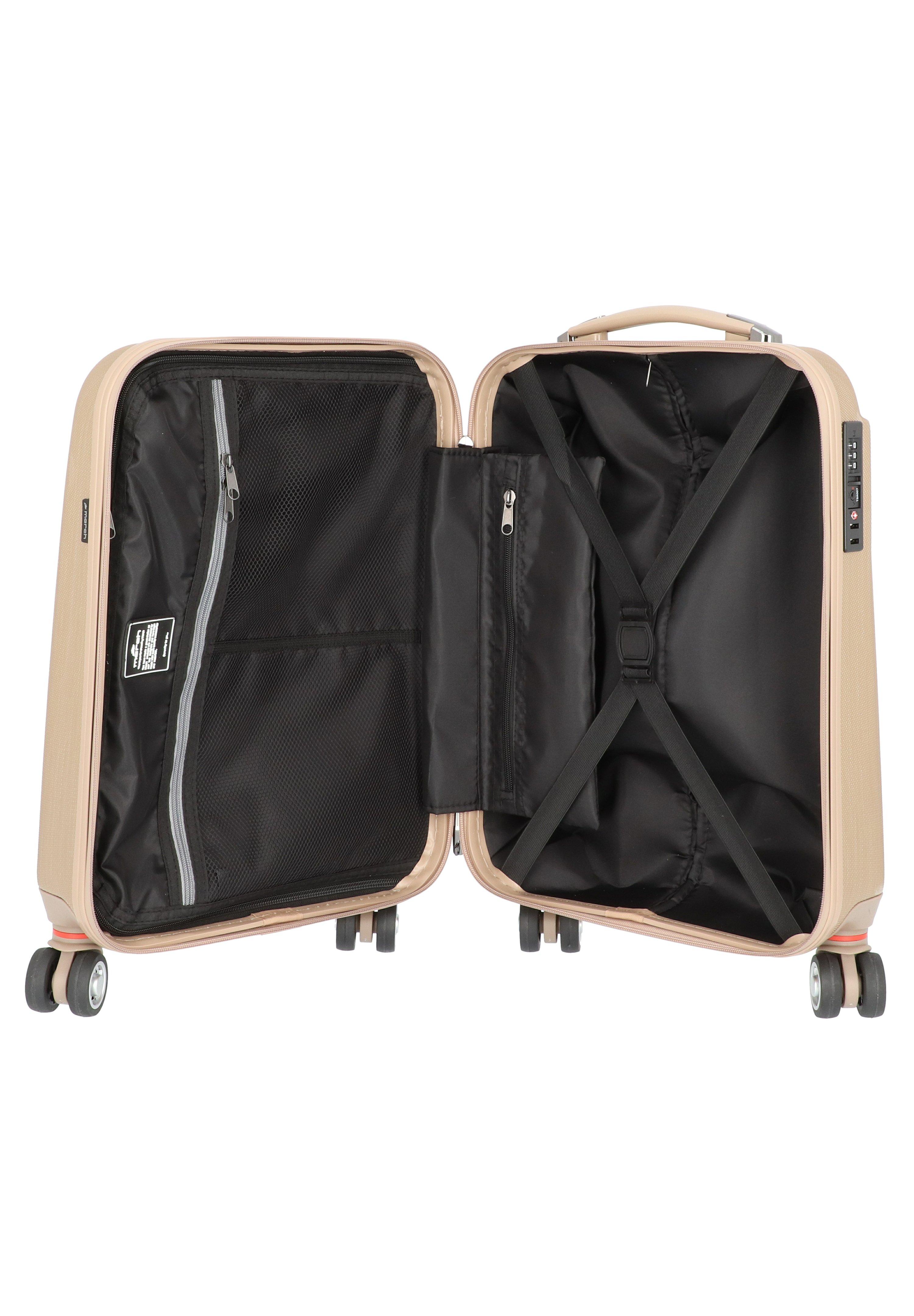 Super Hot Koop Accessoires voor heren IHI564JFOImarch luggage Trolley gold brushed L0t3JO5
