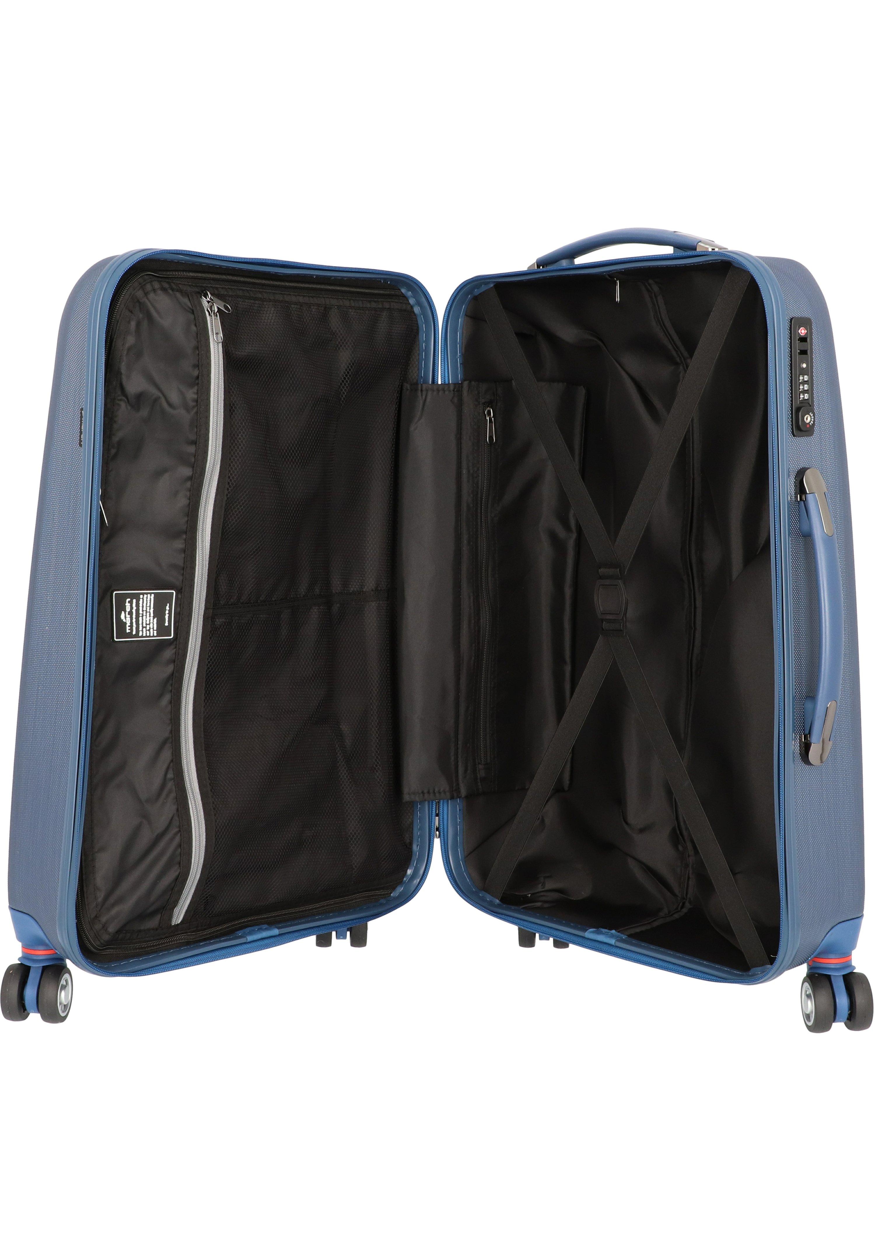 Fabrieksprijs Hot Koop Accessoires voor heren IHI564JFOImarch luggage NEW CARAT SPECIAL EDITION  Trolley navy brushed / dark lake piCqrWd
