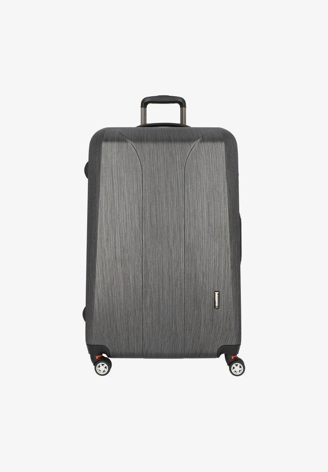 Valise à roulettes - black brushed