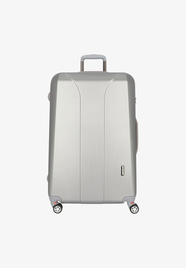 Valise à roulettes - silver brushed