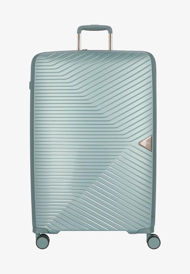 Valise à roulettes - petrol green metallic