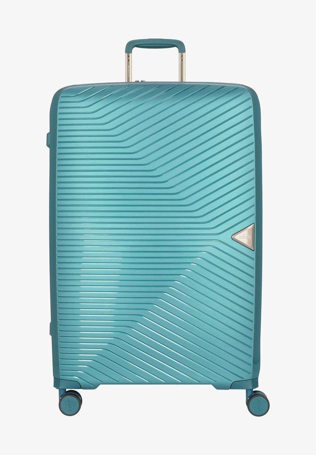 Valise à roulettes - aquagreen