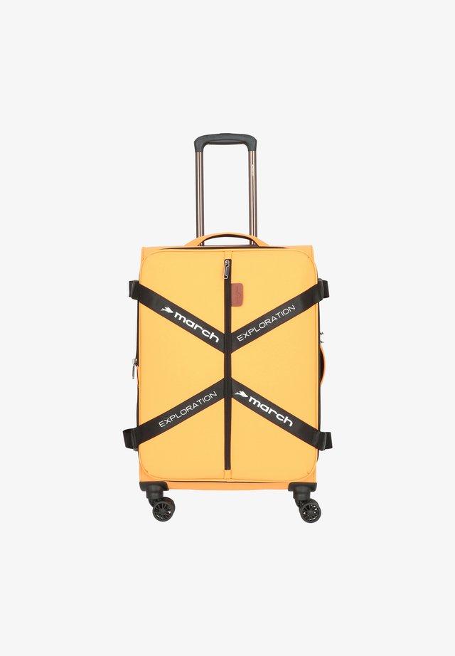 Valise à roulettes - golden honey