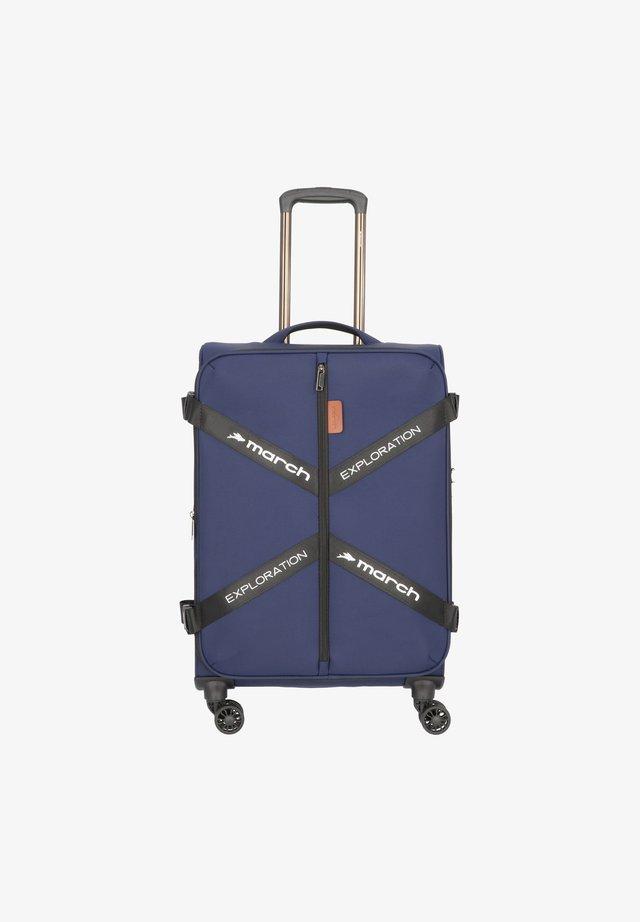 Valise à roulettes - navy