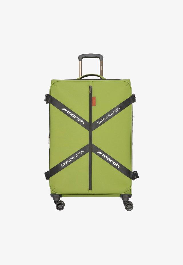 Valise à roulettes - olive