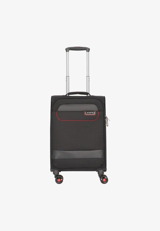 Valise à roulettes - black / red