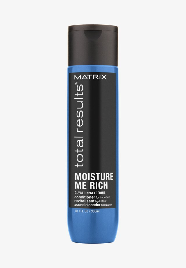 TOTAL RESULTS MOISTURE ME RICH CONDITIONER - Après-shampoing - -