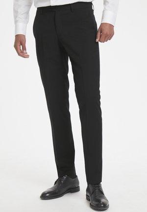 LAS - Jakkesæt bukser - black