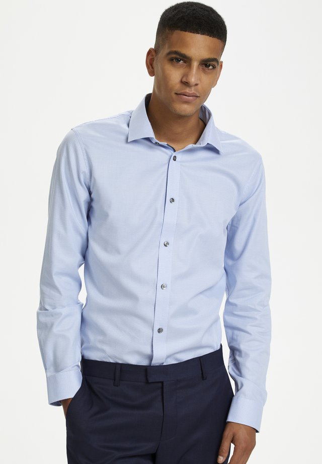 Shirt - chambrey blue