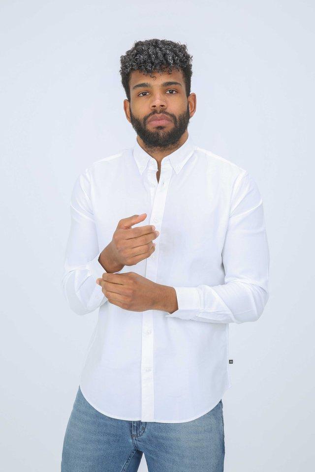JUDE - Shirt - white