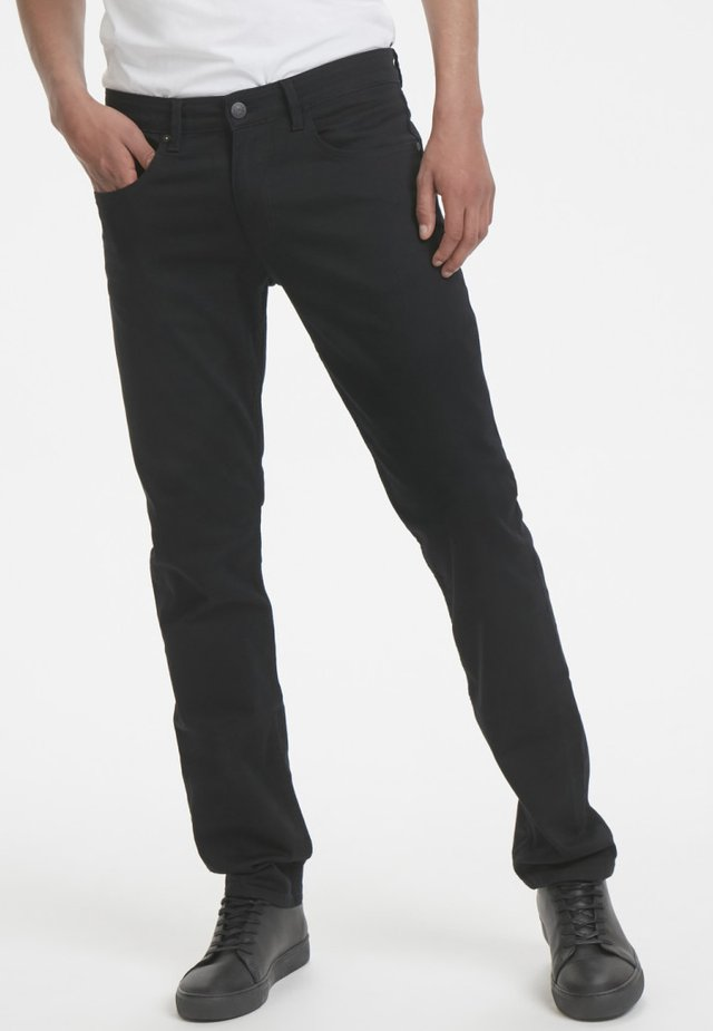 PRISTON - Straight leg -farkut - black