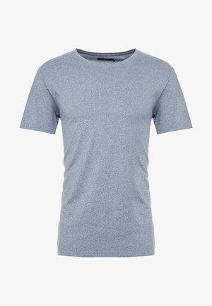 JERMANE SIRO - T-shirt imprimé - mist blue