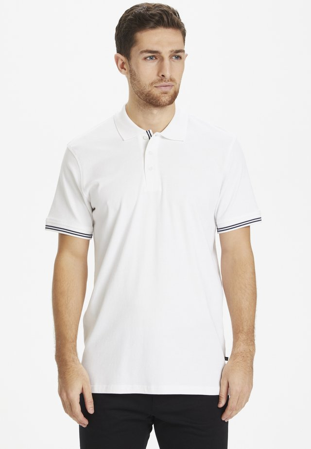 MAPOLEO DS BASIC POLO - Polo shirt - white