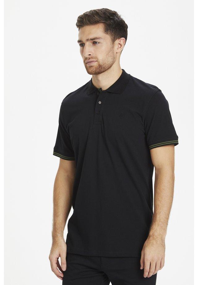 MAPOLEO DS BASIC POLO - Poloshirts - black
