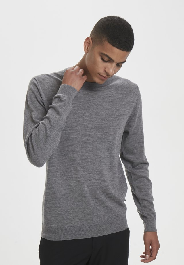 MARGRATE - Jumper - grey melange