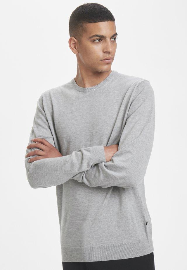 MARGRATE - Pullover - grey melange
