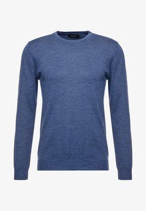 Sweter - vintage blue