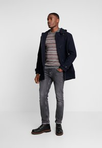 Matinique - LENNON - Jumper - dark grey melange - 1