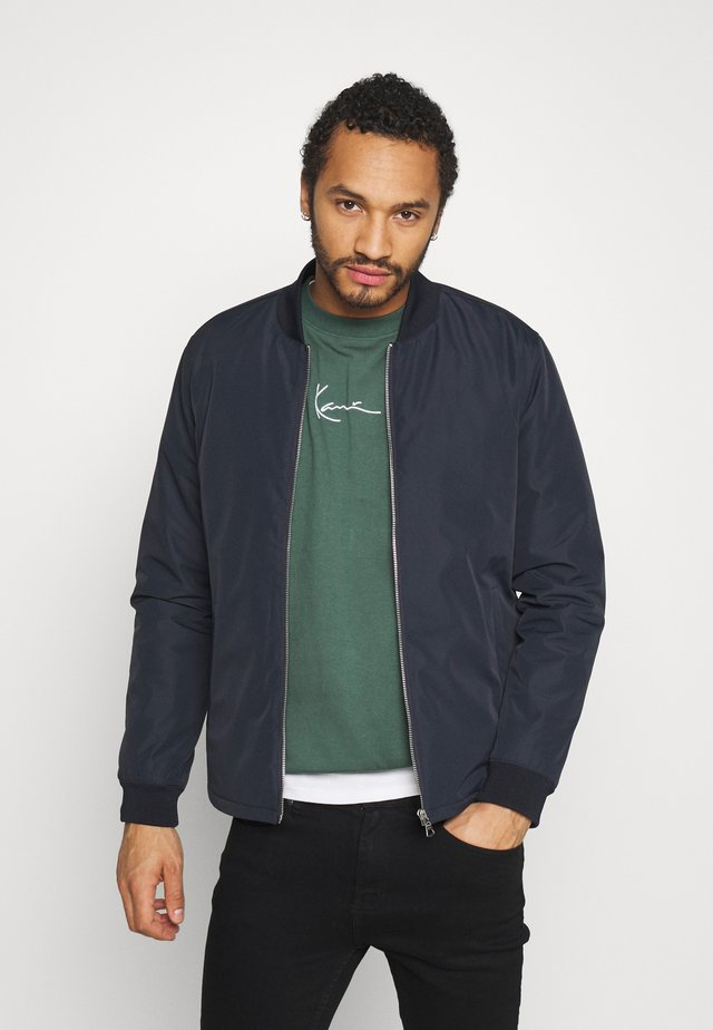 MABROOME  - Bomber Jacket - dark navy