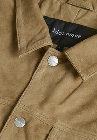 Matinique - Skinnjacka - khaki - 4