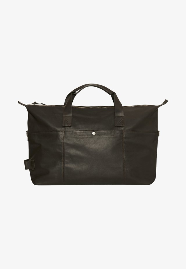 Weekend bag - dark brown