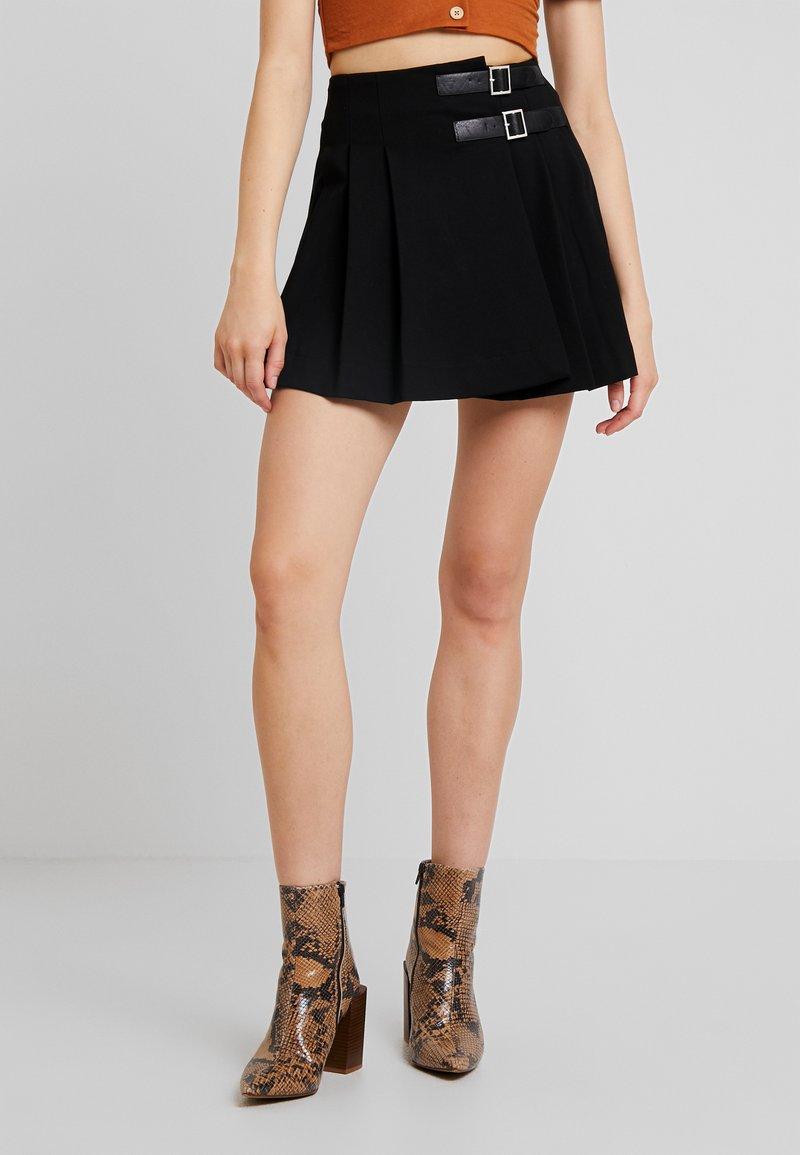 Molly Bracken - YOUNG LADIES SKIRT - Wrap skirt - black