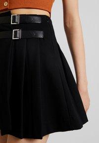 Molly Bracken - YOUNG LADIES SKIRT - Wrap skirt - black - 3