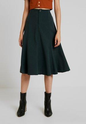 LADIES SKIRT - Áčková sukně - fir green