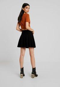 Molly Bracken - LADIES SKIRT - Mini skirt - black - 2