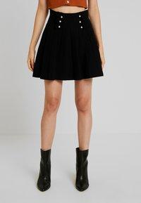 Molly Bracken - LADIES SKIRT - Mini skirt - black - 0