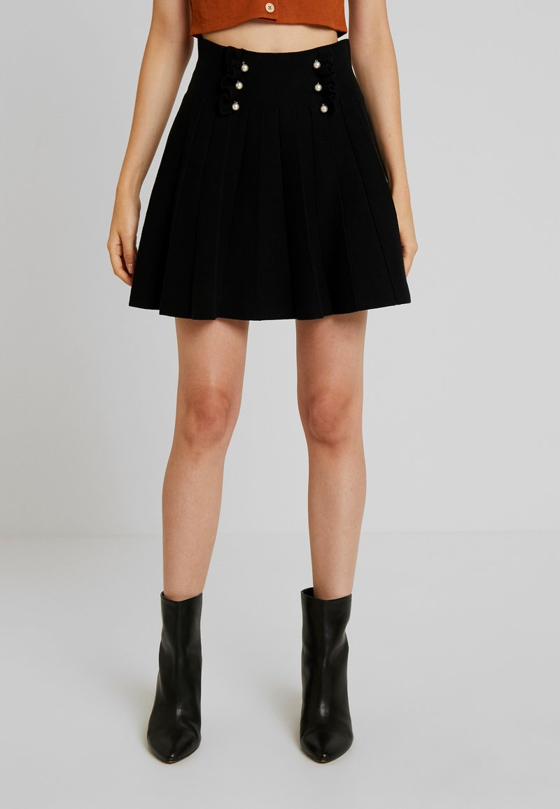 Molly Bracken - LADIES SKIRT - Mini skirt - black