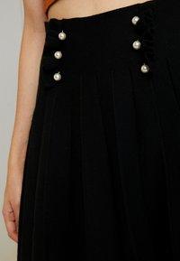 Molly Bracken - LADIES SKIRT - Mini skirt - black - 4