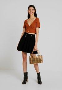 Molly Bracken - LADIES SKIRT - Mini skirt - black - 1