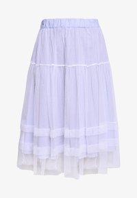 Molly Bracken - LADIES WOVEN SKIRT - A-line skirt - blue - 3