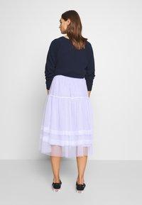 Molly Bracken - LADIES WOVEN SKIRT - A-line skirt - blue - 2